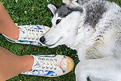 Obuv - Maľové topánky Novesta 'Lotos' - 12521636_