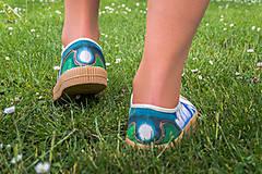 Obuv - Maľové topánky Novesta 'Lotos' - 12521644_