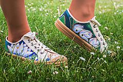 Obuv - Maľové topánky Novesta 'Lotos' - 12521645_