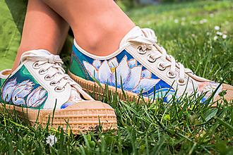 Obuv - Maľové topánky Novesta 'Lotos' - 12521659_