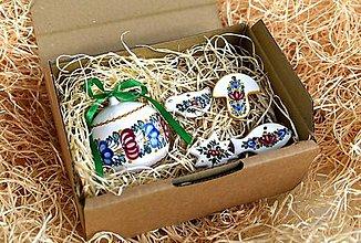 Dekorácie - Praktická sada 14: Vianočná guľa a ozdôbky - 12526119_