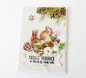 Papiernictvo - pohľadnica vianočná - 12525763_