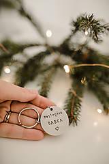 Kľúčenky - Kľúčenky najlepší dedko a babka - 12528212_