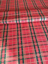 Úžitkový textil - Obrus - štóla káro - 12529025_