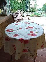 Úžitkový textil - Záclony divé maky- ukážka - 12529061_