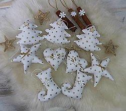 Dekorácie - Vianočné ozdoby na stromček - 12525957_