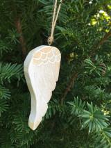 Dekorácie - Drevené krídla - 12527981_