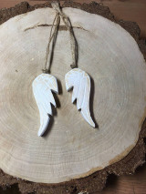 Dekorácie - Drevené krídla - 12528036_