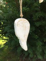 Dekorácie - Drevené krídla - 12528157_