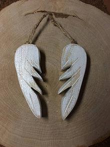 Dekorácie - Drevené krídla - 12528111_