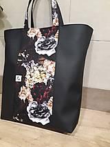 Veľké tašky - Dámska taška kvetinová - 12529201_
