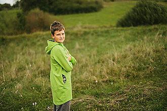 Detské oblečenie - Chalanska mikina veľkosť 152/158 - 12529894_