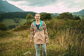 Mikiny - Vzorovana nosiaca mikina- Slovensko - 12529984_