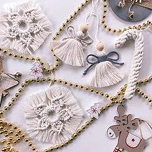 Dekorácie - Vianočné ozdoby sada 5 ks - 12528861_
