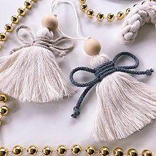 Dekorácie - Vianočná ozdoba ANJEL - 12528924_