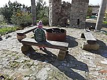 Nábytok - Lavička do zahrady - 12530587_