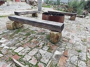 Nábytok - Lavička do zahrady - 12530579_