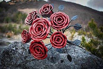 Dekorácie - Kytica ruží - 12533398_