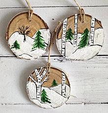 """Dekorácie - Vianočné ozdoby """"Breza"""" - 12533893_"""