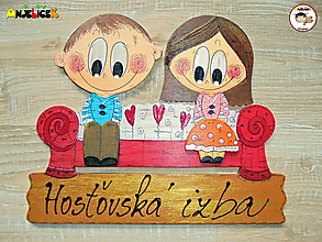 Tabuľky - Menovka - dvojica - 12536227_