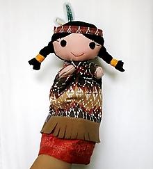 Hračky - Maňuška indiánka - Pomalá Pieseň - 12536153_