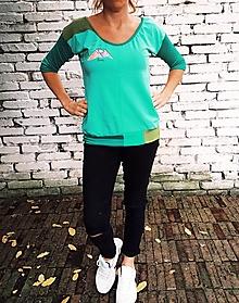 Tričká - Zelené - 12534134_