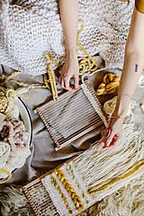 Dekorácie - Sada na tkanie tapisérie - 12532045_