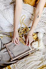 Dekorácie - Sada na tkanie tapisérie - 12532060_