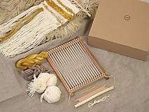 Dekorácie - Sada na tkanie tapisérie - 12532075_