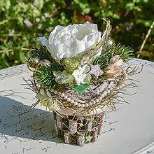 Dekorácie - Vianočná dekorácia na stôl - 12536989_
