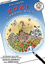 Hračky - Kalendár A3 pre RODINY S DEŤMI - 12534849_