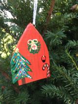 Dekorácie - Vianočný domček - 12533405_