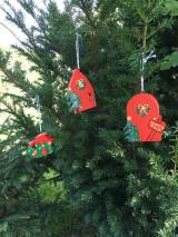 Dekorácie - Vianočná čižmička - 12533430_