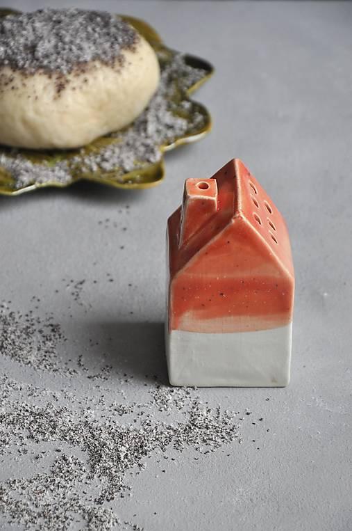 cukornička dom oranžovo  jahodová