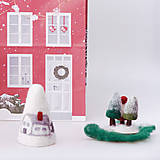 Dekorácie - Vianočná dekorácia - domčeky - 12534278_