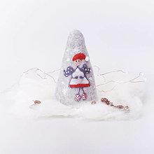 Dekorácie - Vianočná dekorácia - anjelik - 12534397_