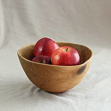 Nádoby - miska z dubového dreva - 12535497_