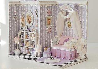 Dekorácie - Levanduľová izba+fotoalbum - 12533875_