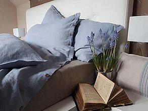 Úžitkový textil - Ľanové posteľné obliečky Simply Fresh - 12536301_