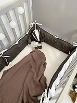 "Textil - Mantinel ""Dots on Brown"" - 12531843_"