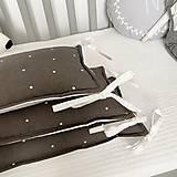 "Textil - Mantinel ""Dots on Brown"" - 12531859_"