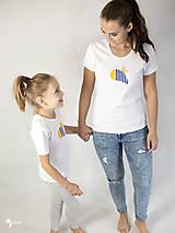 Tričká - Včielka - dámske a detské tričko /body - 12537544_
