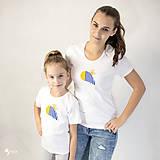 - Včielka - dámske a detské tričko /body - 12537550_