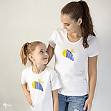 Tričká - Včielka - dámske a detské tričko /body - 12537558_