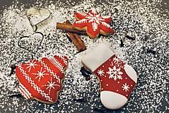 Dekorácie - Vianočné medovníky - 12537191_