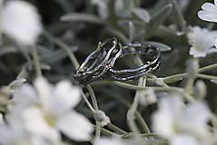 Prstene - Vetvičky strieborné tŕňové, snubný či len tak .. - 12542082_