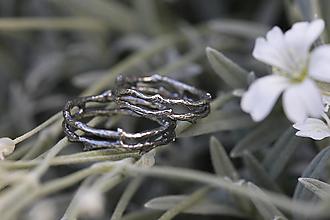 Prstene - Vetvičky strieborné tŕňové, snubný či len tak .. - 12542085_