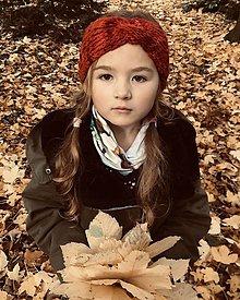 Detské čiapky - detská čelenka - 12538271_