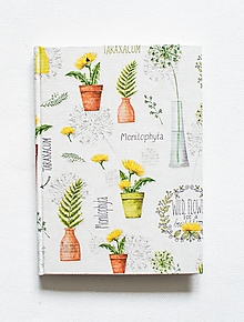Papiernictvo - Wild Flower zápisník - 12542056_