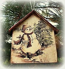 Dekorácie - Vianočná ozdoba - 12539669_